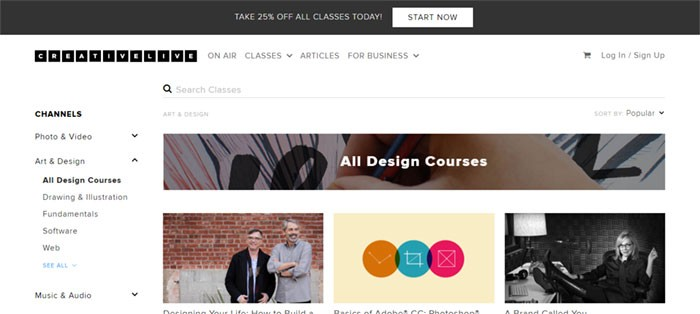 CreativeLive Graphic Design Courses: Learn Graphic Design Online