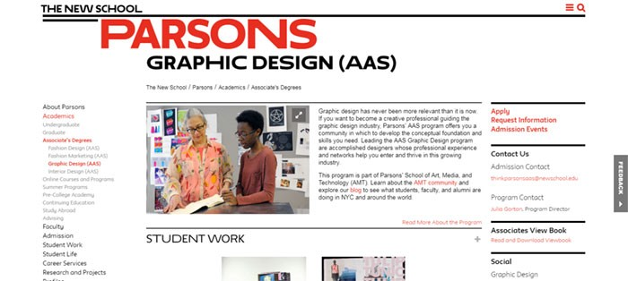 Parson's-School-of-Design-– Graphic Design Courses: Learn Graphic Design Online