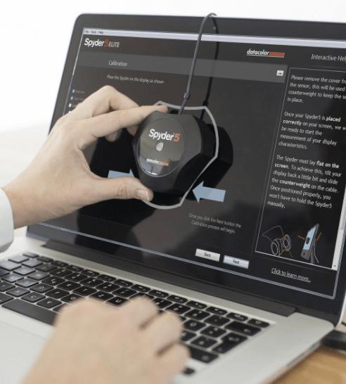 calibrador monitor diseño grafico